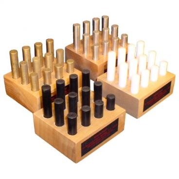 Density Samples Set of 12 Brass.