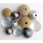Ball, Steel, 19mm with Hole
