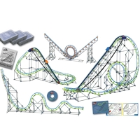 Roller Coaster Physics Set