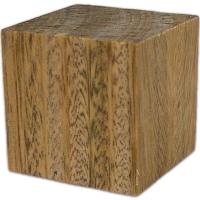 Lignum Vitae Wood Cube
