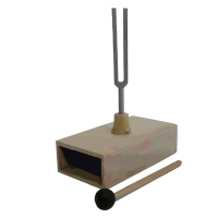 Resonance Box with Tuning Fork 256Hz C