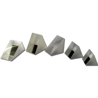 Prism Set/5 Optical Glass 20 mm Thick N=1.62