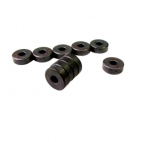 Magnets, Ceramic Ring Pk/10. 19Mm Diameter X 6Mm X 6Mm Hole.