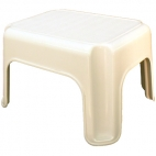 Footstool For Hair Raising.