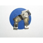 Lamp Bulb Holder, Mini Each (Blue Plastic).