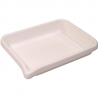 "Tray, Sorting, White 5"" X 7""."