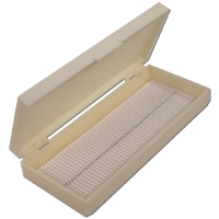 Microscope Slide Case Plastic 50 Slides