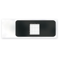 Microscope Slides, Ruled, 2mm Squares, pk/5