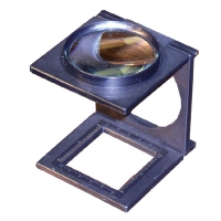 Magnifier, 11 Cm Lens, Foldable Stand