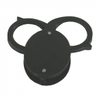 Magnifier,Pocket Fold 2 Lenses. Metal Case, 6X.
