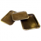 Dissection Pan, Black Wax, Large.**CL