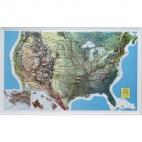 Raised Relief Map, U.S.