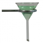 Funnel Filter Glass Short Stem. 90mm Diameter.