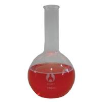 Boiling Flask Glass 500ml FlatBottom Long Neck