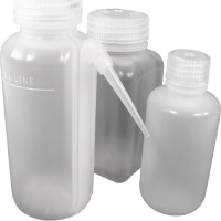 Small polyethylene sample bottles, Polyethylene, 125mL