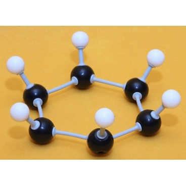 Benzene Molecule Model