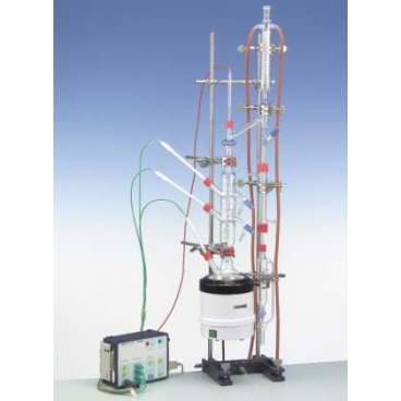Fractional Distillation With Bubble Tray Column