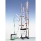 Fractional Distillation W/ Bubble Tray Column