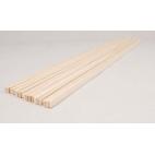 Strips, Wood 1/2 cm 20/bundle (61cm)