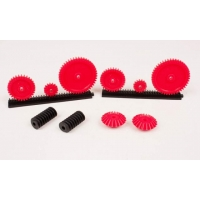 Gears, Assorted, Pkg Of 12