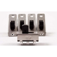 Slide Switches, On-off-rev Pkg Of 5