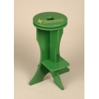 Lab Stool with Rotating Platform