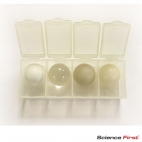 Ball Set 19mm Acrylic, Acetal, Nylon, Polypropylene.