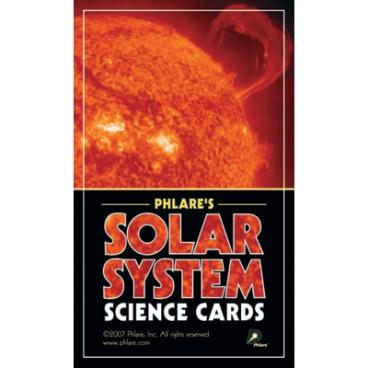 Solar System Science Cards &. Solar System Information Sheet.