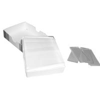 Microscope Slides - Approx 72 per box, glass, 25mm x 75mm