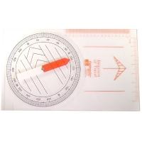 "Teaching Compass, Plastic, 9"" x 15"""