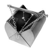 Van Veen Grab - Includes crate, Stainless Steel