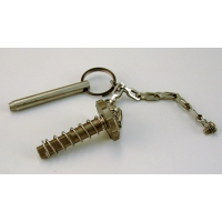 Replacement release pin for Wildco grabs, Stainless Steel
