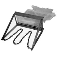 Biological Dredge with Net - Includes carry case, Zinc plated steel