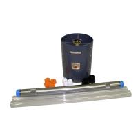 """Ballchek Corer, 36"""" SS Core Tube / PVC Shroud"""