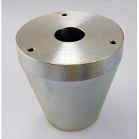 Heavy conversion base, Zinc plated steel, 30lbs