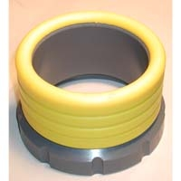 Dolphin Adaptors for Wildco Nets - Fits 47-G bucket, Polyurethane, 3-1/2in