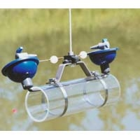 Alpha Water Sampler,  Horizontal Acrylic Kit - Includes carry case, Transparent acrylic, 3.2L