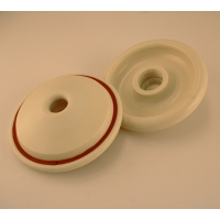 Replacement end seals with gasket, large - Pack of two, 6.2, 8.2L