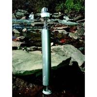 Kemmerer Water Sampler, Trace - Water sampler only, SS/Silicone, 2.2L