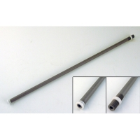 Replacement shaft assembly, PVC - With nut, 1530/1560
