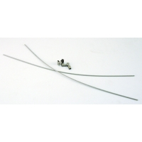 Replacement cable assembly, Well - Pack of two, SS, All types