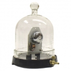 Bell in Vacuum with Plate and Bell.