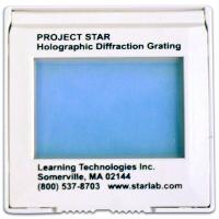 Holographic Deffraction Grating. Single slide.