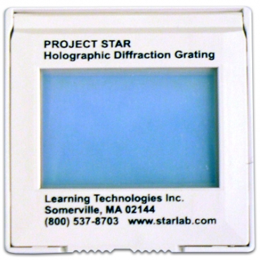 Diffraction Grating-Slide Mntd.