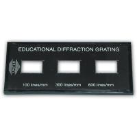 Diffraction Grating, Demonstration3 Sets of Lines