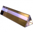 Prism, Equilateral Acrylic, 25mm x 75mm.