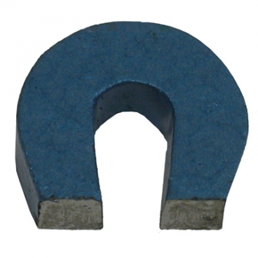 Magnet, Horse Shoe Mini 27.5 x 25 x 6mm with Keeper, Painted.