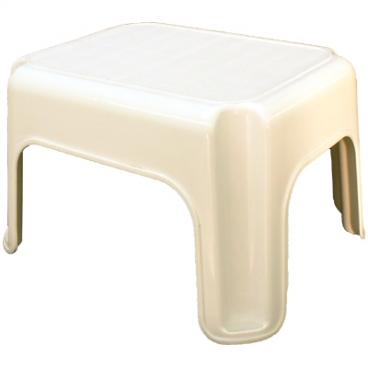 Footstool For Hair Raising.