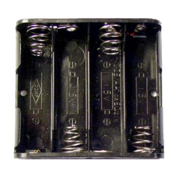 Battery Holder 4 Slot AA.