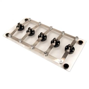 Lampboard Rheostat - 5 Bulb.